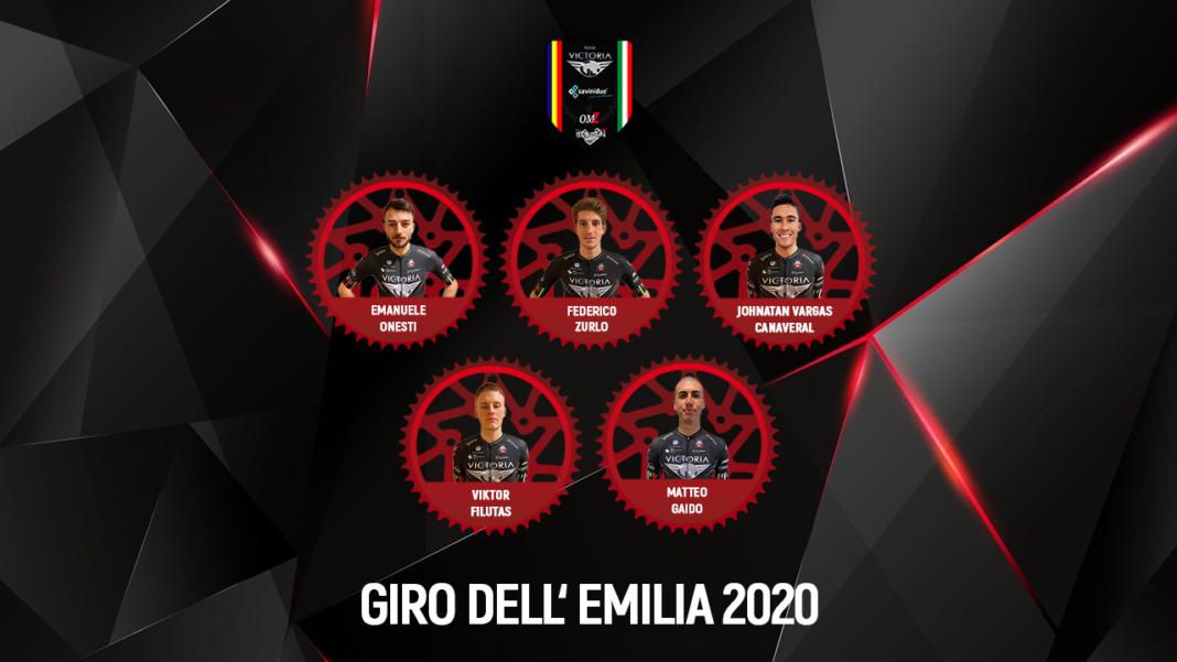 Giro dell' Emilia 2020 Line up GIOTTI Victoria - Savini Due Team