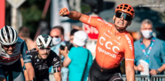 Andrea Guardini Tour de Hongrie 2020 stage 2